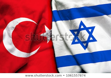 turkey and israel flags stock photo © istanbul2009