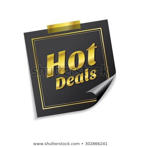 горячей вектор икона дизайна Сток-фото © rizwanali3d