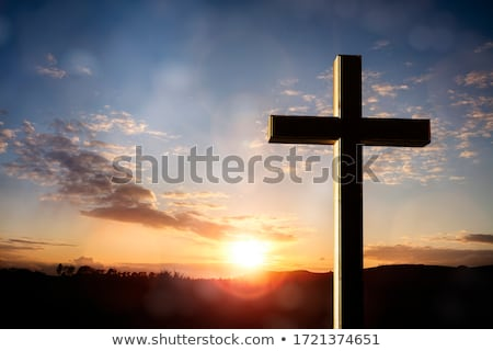 クロス · ダブリン · アイルランド · 空 · 在庫 · 芝生 - ストックフォト © imagedb