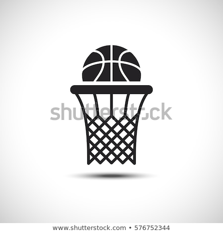 basketbalveld · bal · illustratie · kamer · exemplaar · ruimte · vector - stockfoto © freesoulproduction