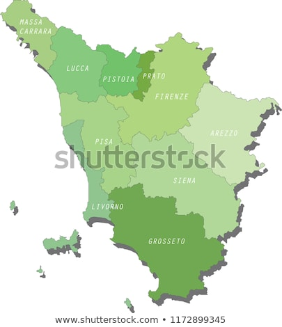 Map of Italy, Grosseto Stock photo © Istanbul2009