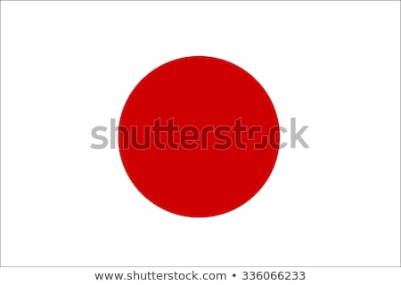 Japán zászló ázsiai Ázsia Stock fotó © kiddaikiddee