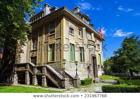 típico · mediterrânico · fachada · arquitetura · estilo - foto stock © steffus