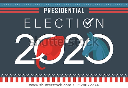 Presidential Election Banner Stock photo © artisticco