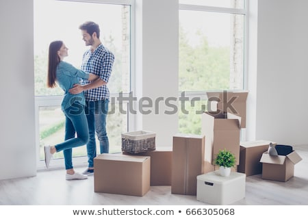 Happy young couple dream about their life Stock photo © artfotodima
