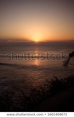 южный утра острове Бали рассвета океана Сток-фото © SergeyAndreevich