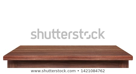 свободный деревянный стол слово служба ребенка образование Сток-фото © fuzzbones0