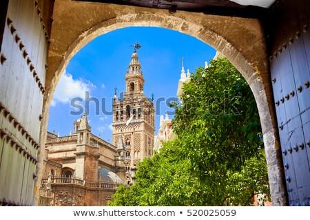 собора башни арки двери город каменные Сток-фото © lunamarina