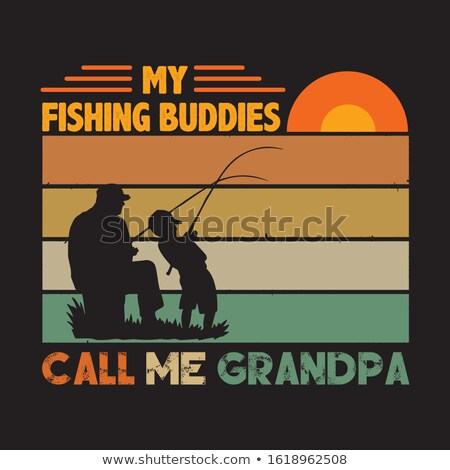 Grandpa buddies Stock photo © DzoniBeCool
