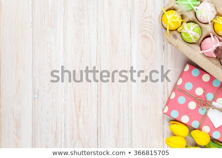 foto · pastel · oficina · trabajo - foto stock © stephaniefrey