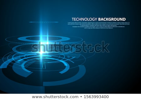 Technological Sense Abstract Illustration. Technological Sense Abstract Illustration. Vector Technol Stock photo © pikepicture