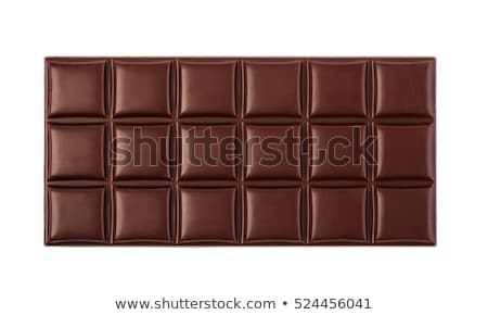 Chocolate escuro bar textura doce gordura Foto stock © deandrobot