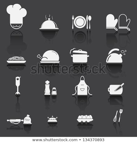 Ingesteld keuken schets modellen baby Stockfoto © Olena