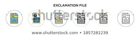 файла · папке · стипендия · архив · мнение - Сток-фото © tashatuvango