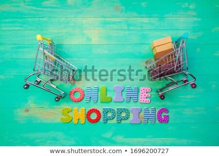 online shopping banner 2 stock photo © genestro