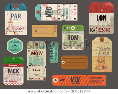 Russia plane tickets for travel and tourism Stock photo © cienpies