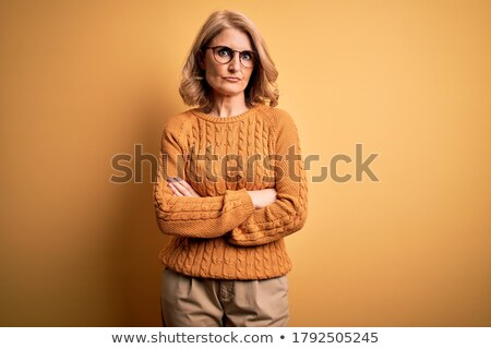 woman skeptical facial expressions face Stock photo © studiostoks