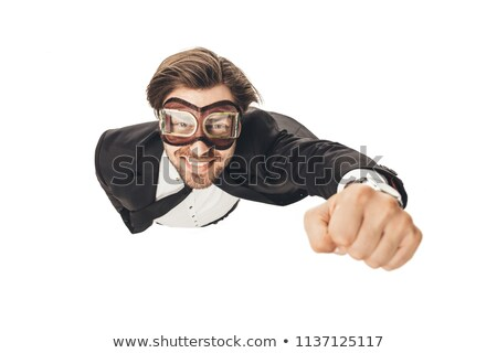 Businessman flying Stock photo © adrenalina