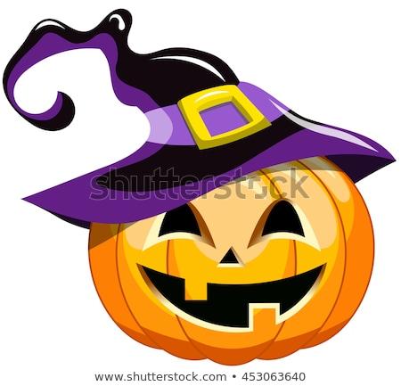 zombi · halloween · tebrik · karikatür · örnek - stok fotoğraf © tasipas