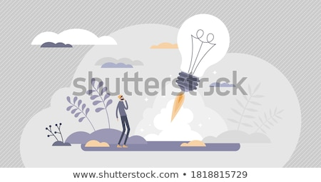 Startup Abstract Visualization of Successful Idea Stock photo © robuart