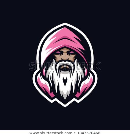 Cartoon Angry Wizard Monkey Stock photo © cthoman