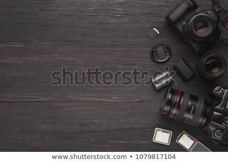 Skillful Photographers, Equipment Digital Camera Stock photo © robuart