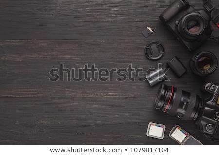 skillful photographers equipment digital camera stock photo © robuart