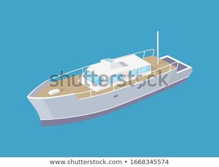 schip · teken · navigatie · licentie · zeilen · water - stockfoto © robuart