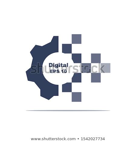 digitale · transformatie · voortvarend · papier · documenten - stockfoto © make