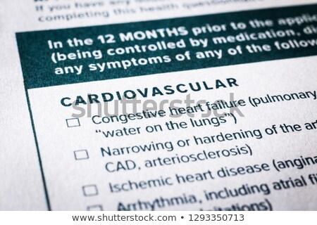 kardiologia · układu · sercowo-naczyniowego · serca · ludzi · krwi · zdrowia - zdjęcia stock © vinnstock