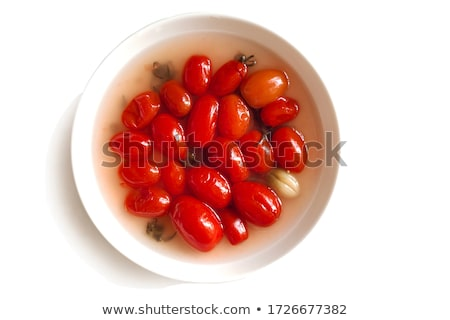 Homemade pickled cherry tomato  Stock photo © furmanphoto