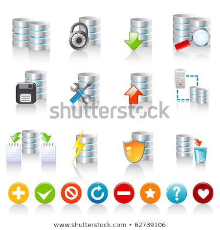 данные · файла · папке · Recycle · кнопки - Сток-фото © cifotart