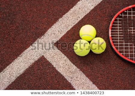 üst görmek spor dişli oyun tenis Stok fotoğraf © pressmaster