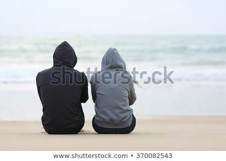Teenage Boy Outside With Girlfriend In Background Stock photo © monkey_business