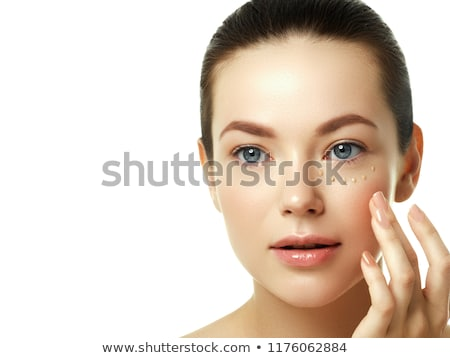 Beautiful Young Woman with Clean Fresh Skin. Beaity face. Facial treatment. Cosmetology, beauty and  Stock photo © serdechny
