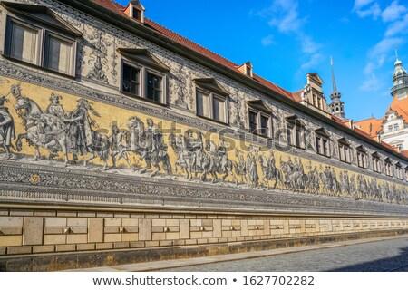 Сток-фото: Дрезден · Германия · английский · город · искусства · путешествия