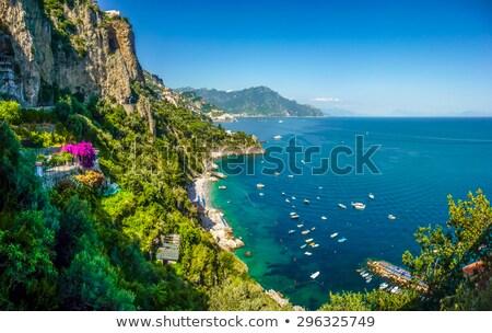 montagnes · lac · Italie · ciel · paysage · lumière - photo stock © lichtmeister