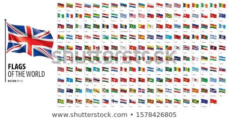 europa · 2010 · bandeiras · coleção · branco · abstrato - foto stock © doomko