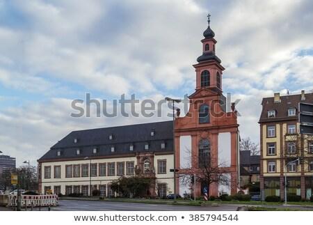 Cattolico chiesa Francoforte sul Meno Germania museo icona Foto d'archivio © borisb17