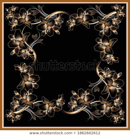 vektor · fém · lánc · zár · szeretet · felirat - stock fotó © robuart