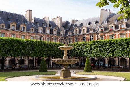 Place des Vosges, Paris Stock photo © borisb17