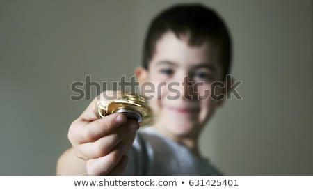 играть подчеркнуть игрушку счастливым ребенка Сток-фото © galitskaya