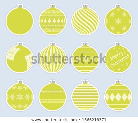 schone · vrolijk · christmas · sneeuwvlokken · achtergrond - stockfoto © ukasz_hampel