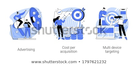ppc campaign vector concept metaphors stock photo © rastudio
