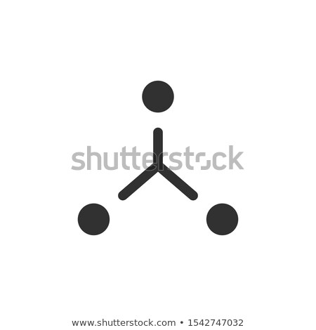 Structure icon from Business. Teambuilding communication, configuration, cooperation concept. Stock  Stock photo © kyryloff