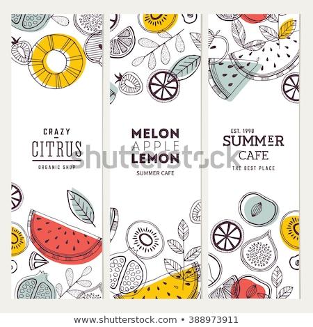 misto · frutas · imagem · variedade - foto stock © get4net