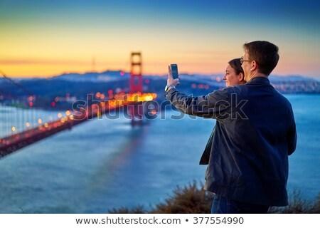 女性 写真 市 午前 光 ストックフォト © galitskaya