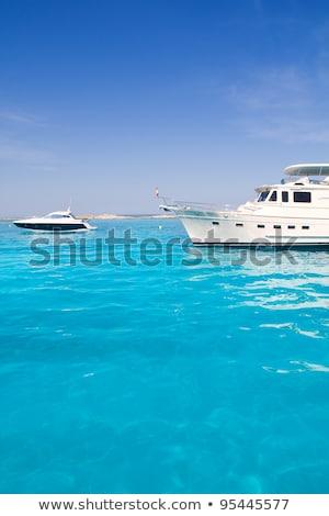 turkoois · strand · luxe · hemel · water · landschap - stockfoto © lunamarina