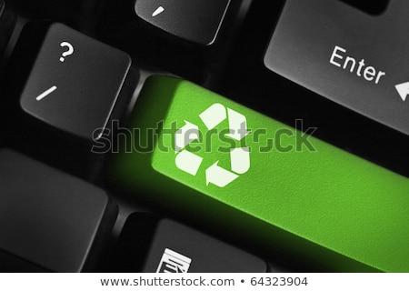számítógép · billentyűzet · zöld · üzlet · kulcs · számítógép · hálózat - stock fotó © 4designersart