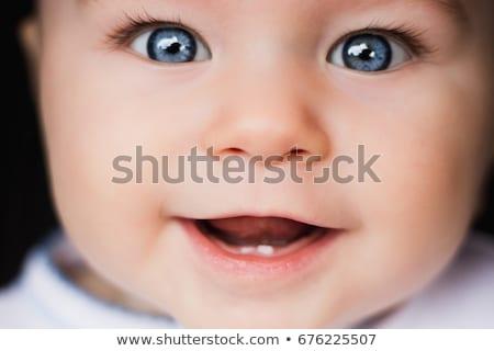 Big Eyes And Beautiful Smile Stock photo © stryjek